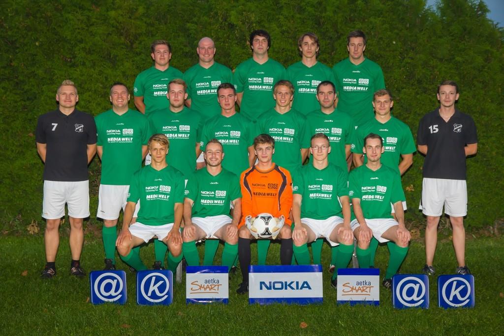 Die 3.Männer Mannschaft in der Saison 2013-2014.