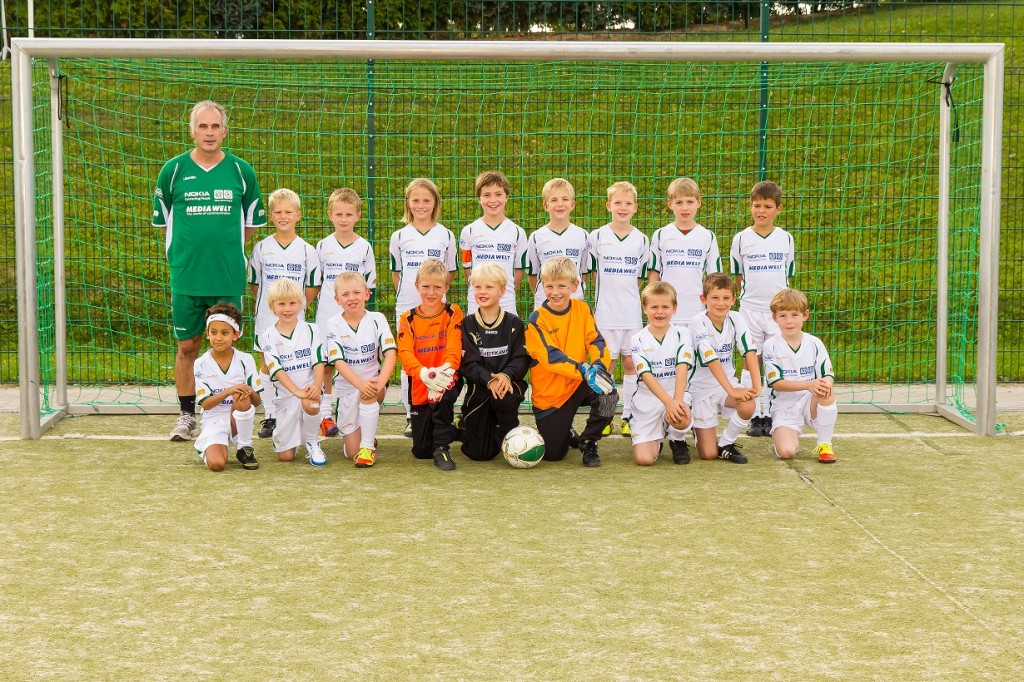 Die F-Jugend in der Saison 2012-2013.